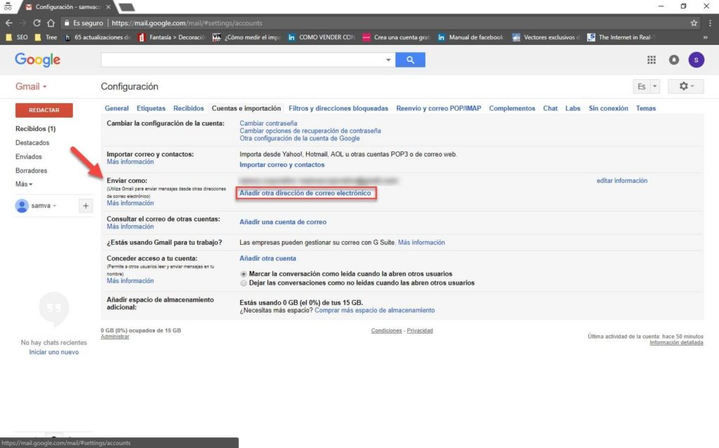 Gmail para administrar tu correo corporativo 8