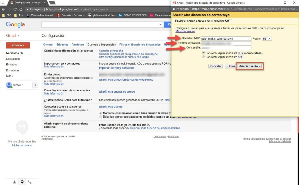 Gmail para administrar tu correo corporativo 10