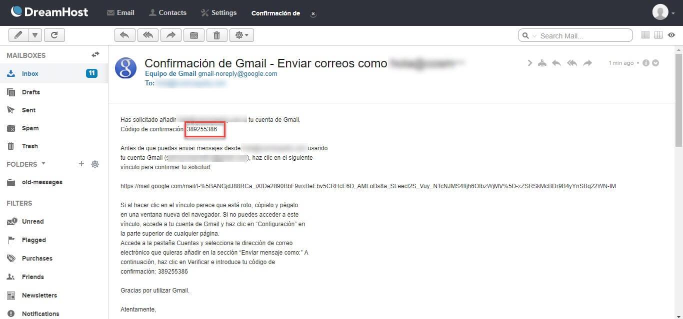 Gmail para administrar tu correo corporativo 11