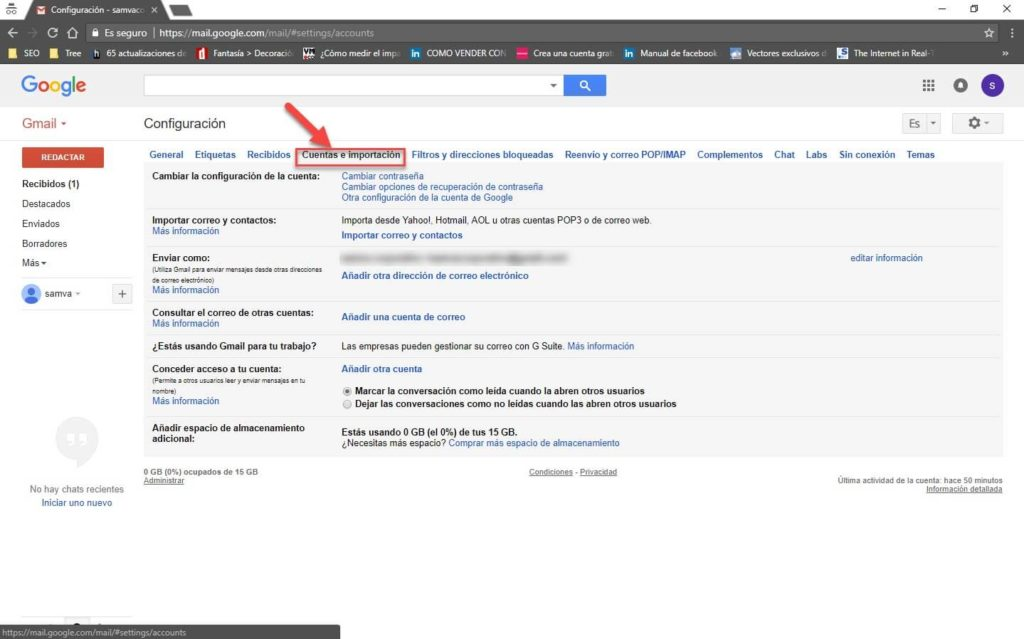 Gmail para administrar tu correo corporativo 7