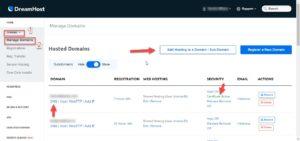 Cómo empezar a configurar tu hosting en Dreamhost 7